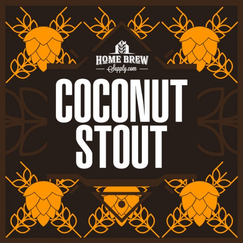 Dark Hawaii - Chocolate Coconut Milk Stout - Extract Recipe Kit