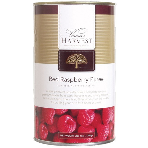 Vintner's Harvest Raspberry Puree - 49 oz