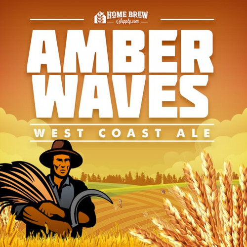 Amber Waves - West Coast Ale Extract Recipe Kit