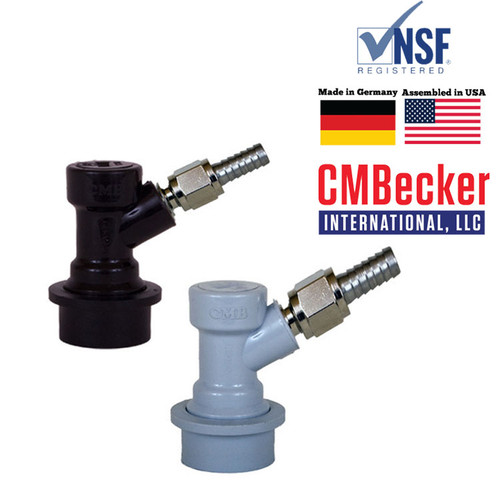 CMB Disconnects Pair, MFL with swivel nuts Ball Lock with 5/16 gas, 1/4 liquid
