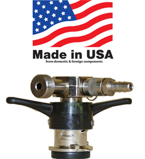 """D"" American ""Sanke"" Coupler, Twist on Style,  Low Profile"