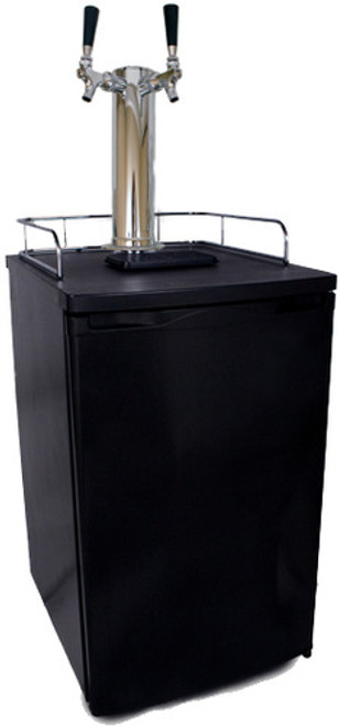 Kegerator, Two Faucet Tower, (Sanke) Commercial Connections..... See Description for shipping