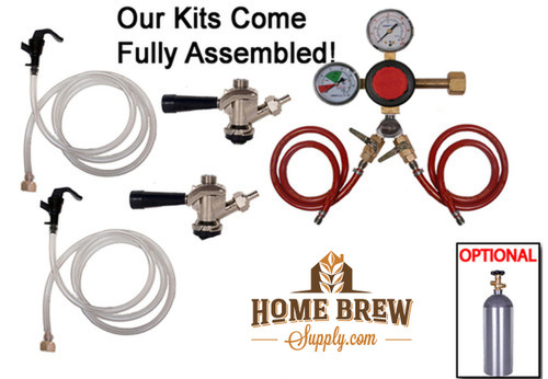 2 Faucet Basic Commercial Kit