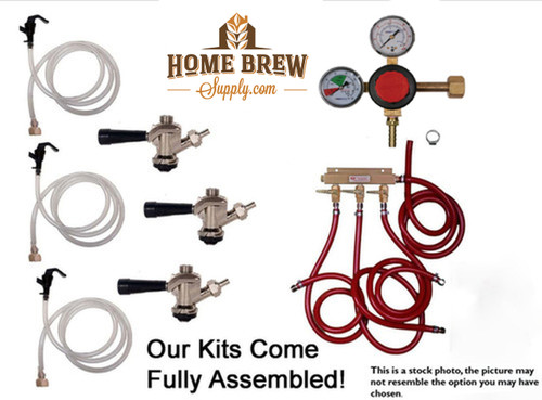 3 Faucet Basic Commercial Kit