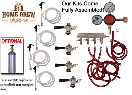 4 Faucet Basic Commercial Kit