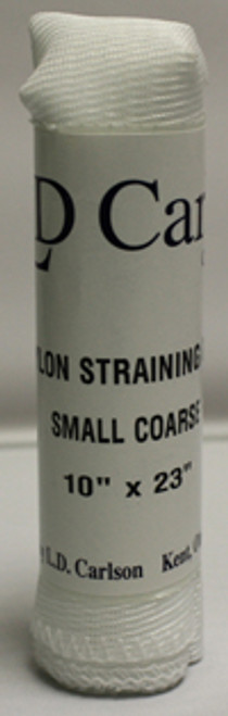 "Small Coarse Nylon Straining Bag (10"" X 23"")"
