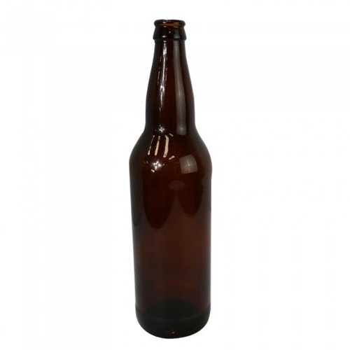 22 oz Amber Beer Bottles (case of 12)