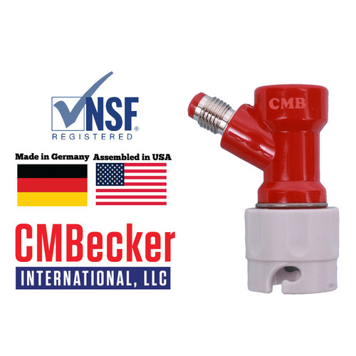 CMB Pin Lock Disconnect Short Gas 1/4 MFL