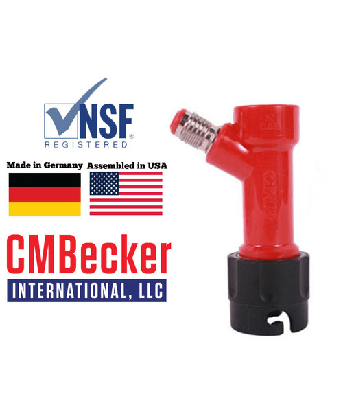 "CMB Pin Lock Disconnect Liquid 1/2"" MFL"