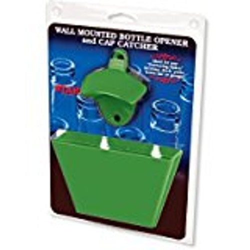 All Green Combo Bottle Opener - Plastic