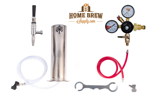 1 Faucet Tower Cold Brew Coffee & Nitrogen Infused Kit
