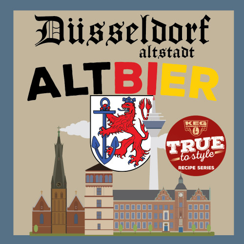 Dusseldorf Altbier, True to Style Mini-Mash Recipe Kit