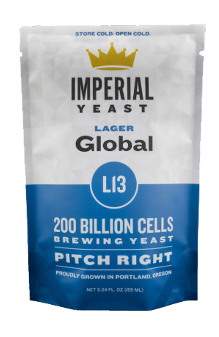 Imperial L13 Global Organic Yeast | Lager