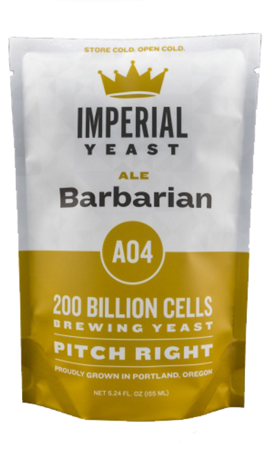 Imperial A04 Barbarian Organic Yeast | Vermont Ale