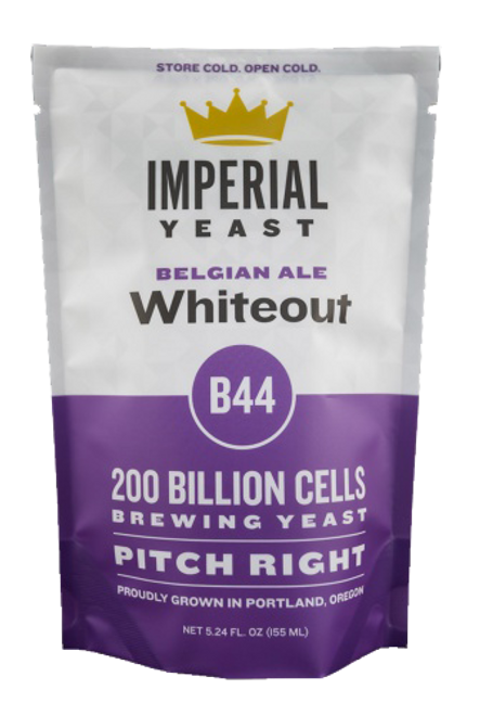 Imperial B44 Whiteout Organic Yeast | Belgian Wit