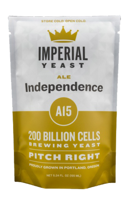 Imperial A15 Independence Organic Yeast | American Ale