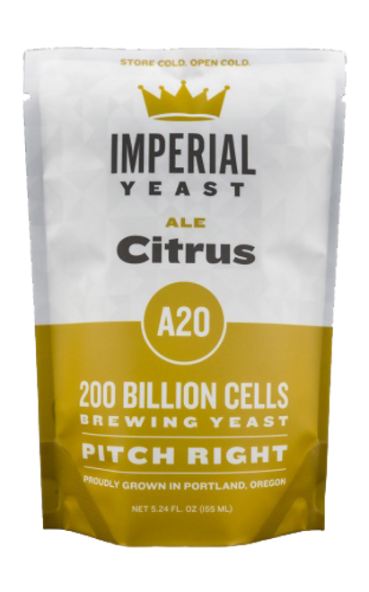 Imperial A20 Citrus Organic Yeast