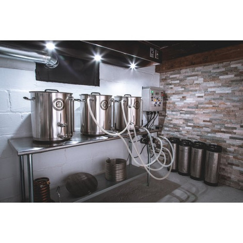 Spike Brewing Complete Turn Key HERMS Brewing System - 10 Gallon