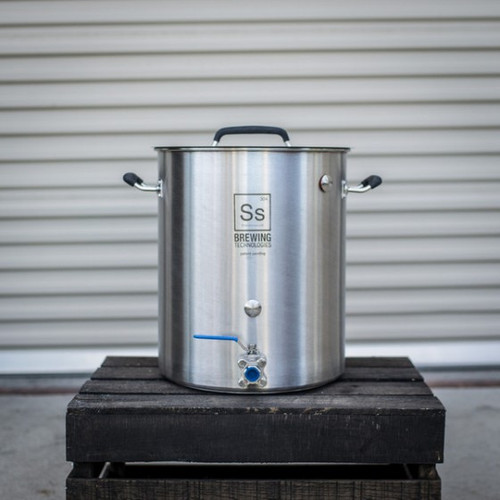 Ss Brewtech Stainless Steel Kettle - 30 Gallon