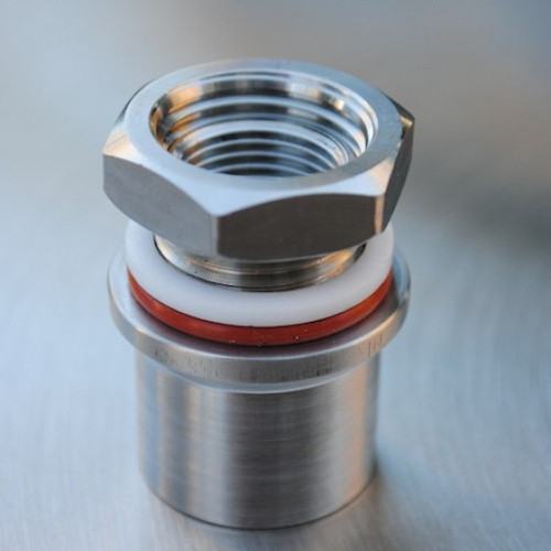 SS Brewtech Weldless Thermometer Coupling