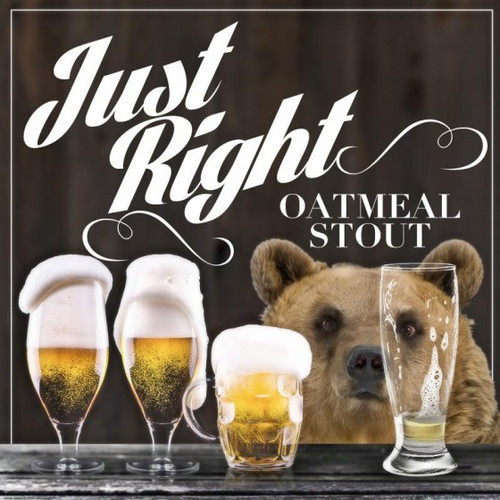 Just Right Oatmeal Stout - All-Grain Recipe Kit