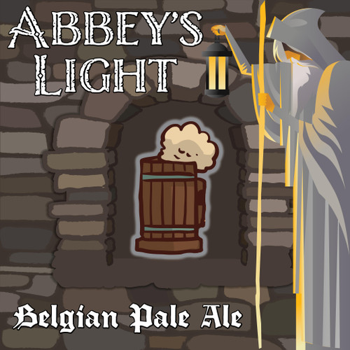Abbey's Light Belgian Pale Ale - All-Grain Recipe Kit