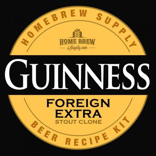 Guinness Foreign Extra Stout Clone - All-Grain Recipe Kit