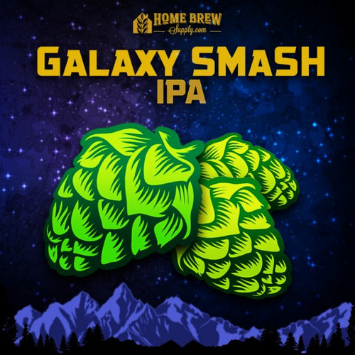 Galaxy SMaSH IPA - All-Grain Recipe Kit