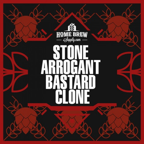 Arrogant Bastard Clone - All-Grain Recipe Kit