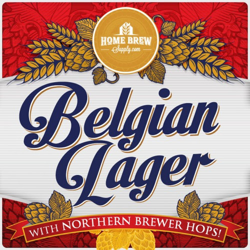 Belgian Lager - Budweiser Clone - All Grain Recipe Kit