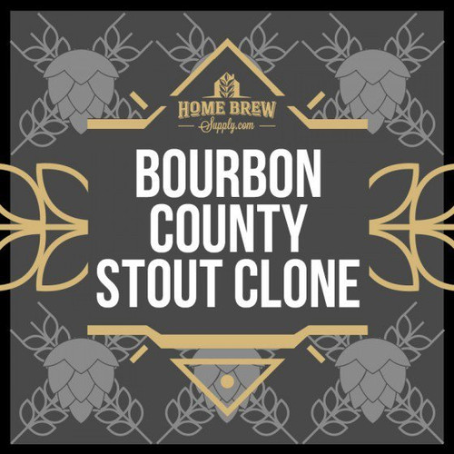 Goose Island Bourbon County Stout Clone - All-Grain Recipe Kit