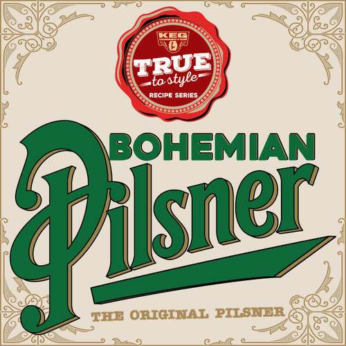 Bohemian Pilsner - All-Grain Recipe Kit