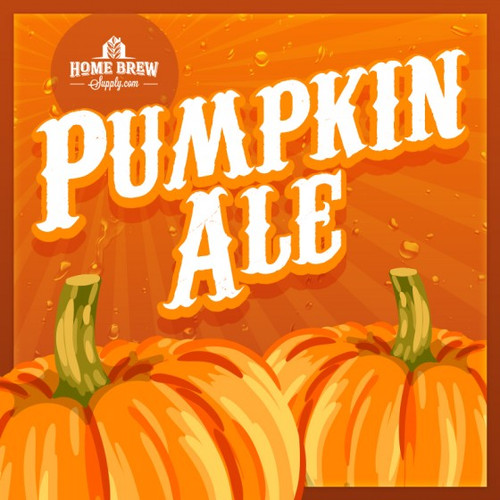 Pumpkin Ale 5 gallon all-grain homebrew recipe kit.