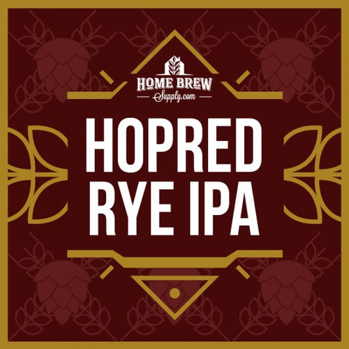 HopRed Rye IPA - Extract Recipe Kit