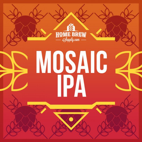 Mosaic IPA - Extract Recipe Kit