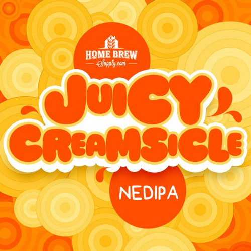 Juicy Creamsicle NEDIPA - Extract Recipe Kit