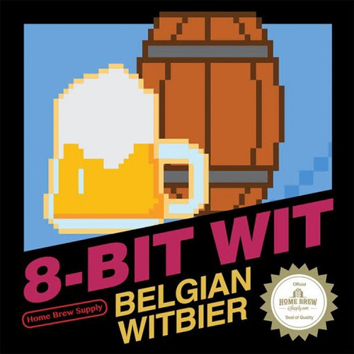 8-Bit Wit Belgian Witbier - Extract Recipe Kit