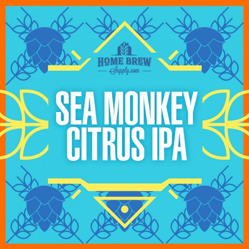 Sea Monkey Citrus IPA - Extract Recipe Kit
