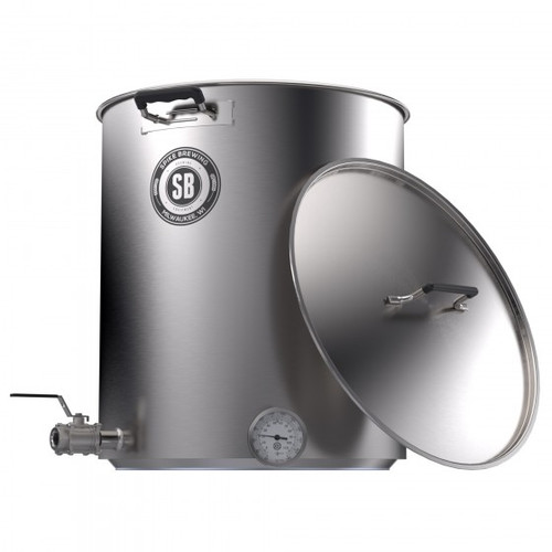 Spike Brewing V4 15 Gallon Kettle - Two Horizontal Couplers