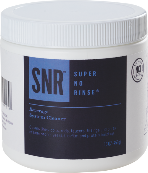 Super No-Rinse Beer Line Cleaning Powder, 16oz
