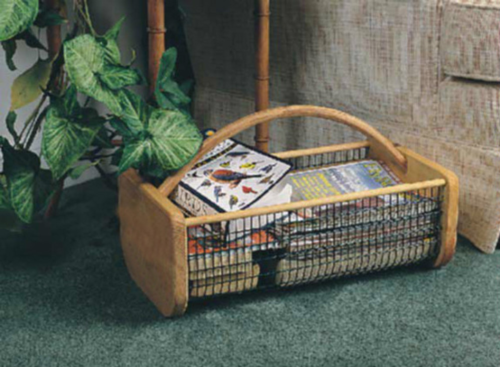 Organize your magazines with a Garden Hod