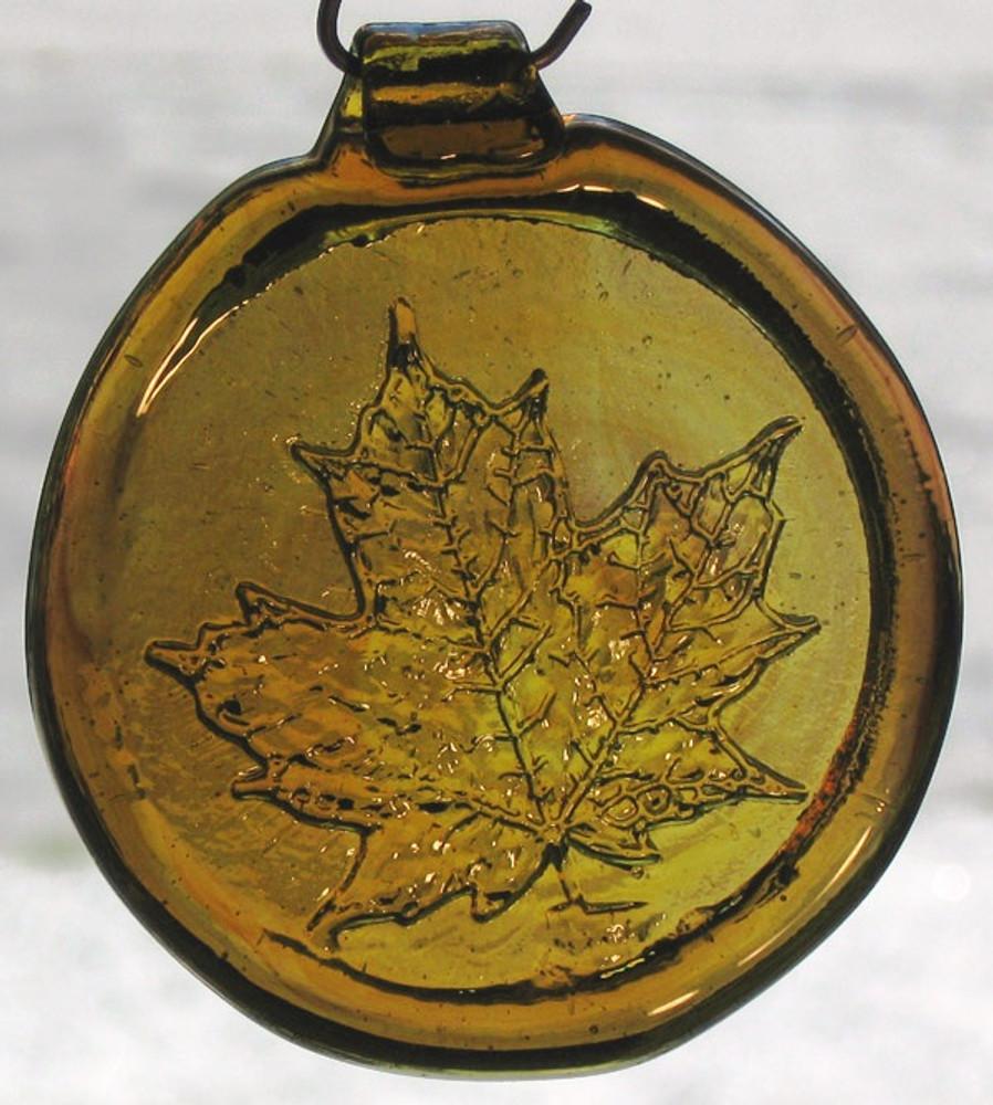Old Hancock Maple Leaf Suncatcher