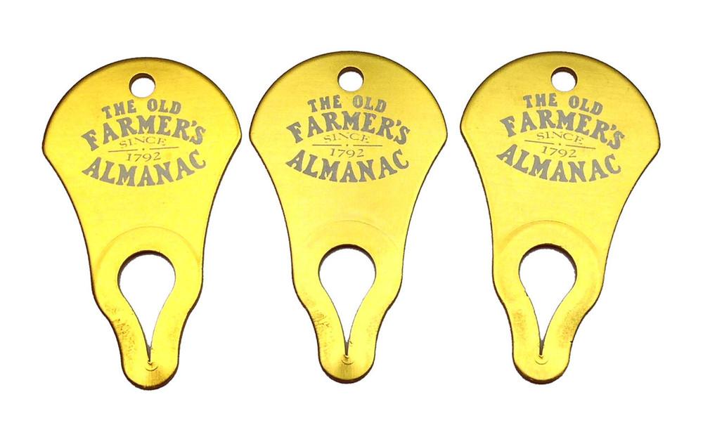 You get 3 Tick Keys so one will always be near!
