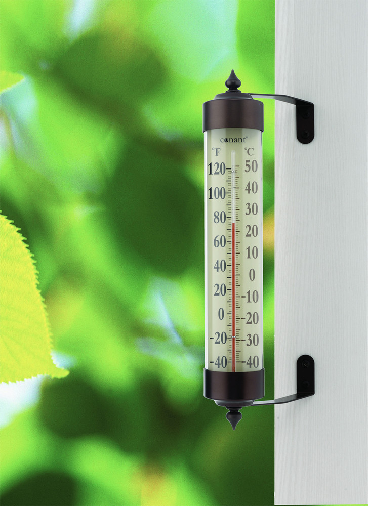 Vermont Grande View Thermometer - Bronze Patina