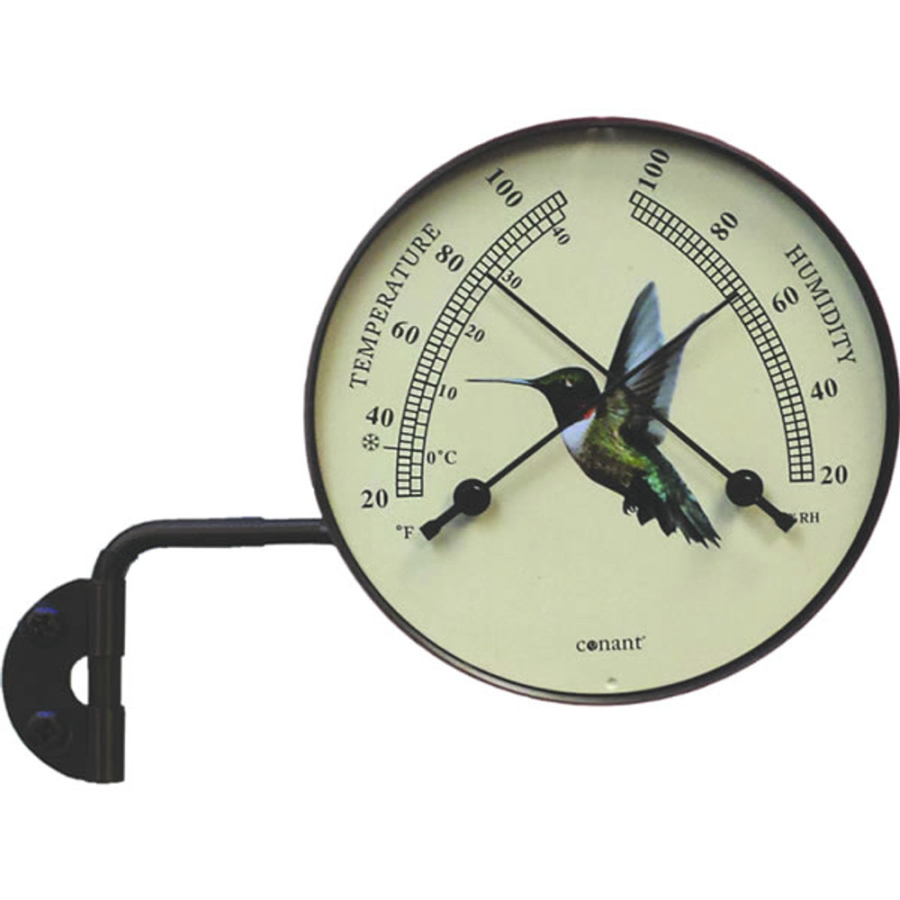 Hummingbird Window Thermometer
