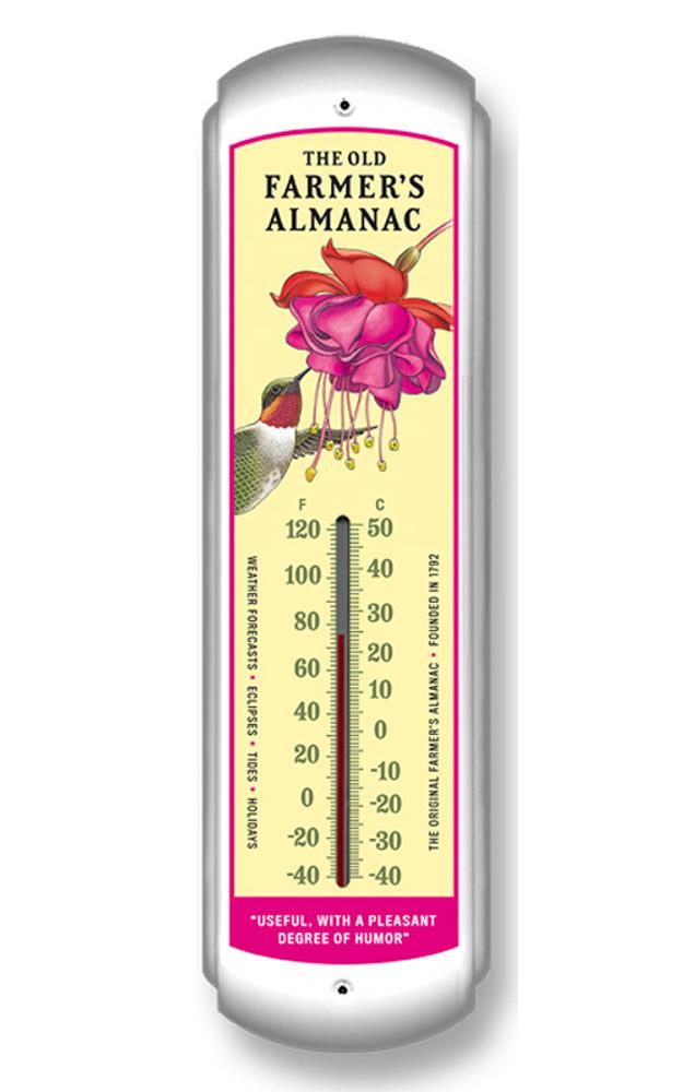 Almanac Hummingbird Thermometer
