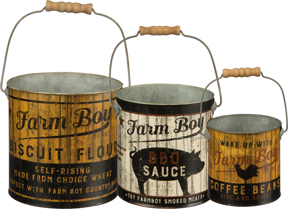 Farm Boy Pail Set
