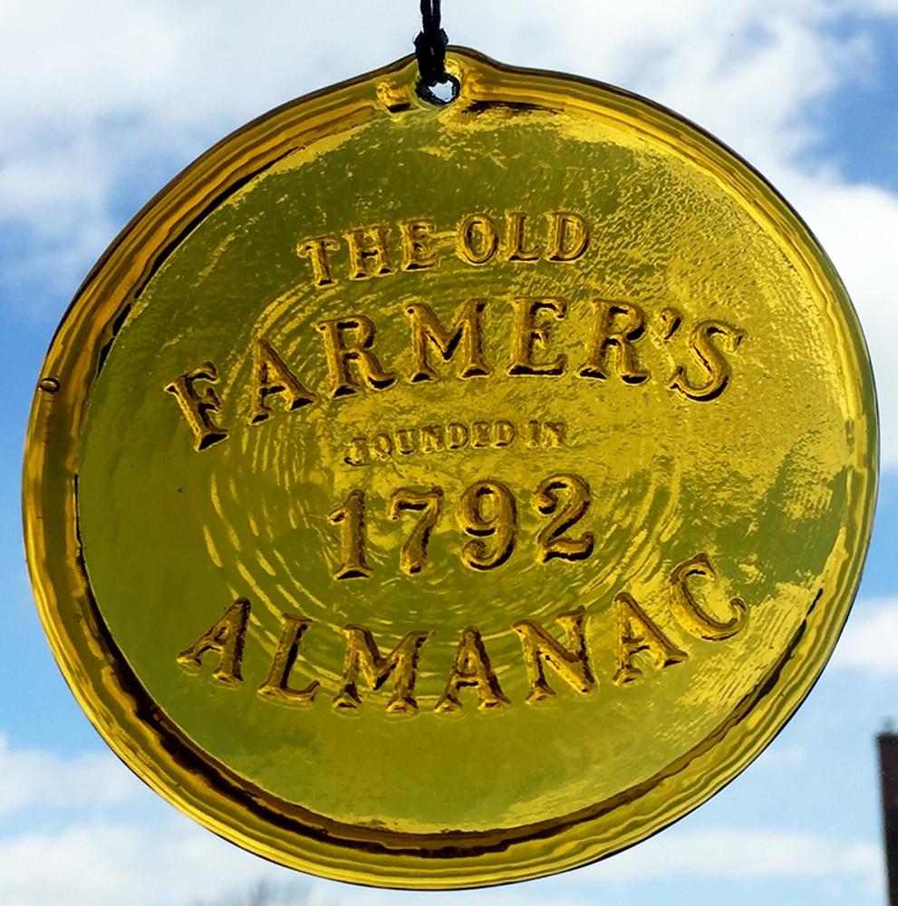 Almanac 1792 Suncatcher