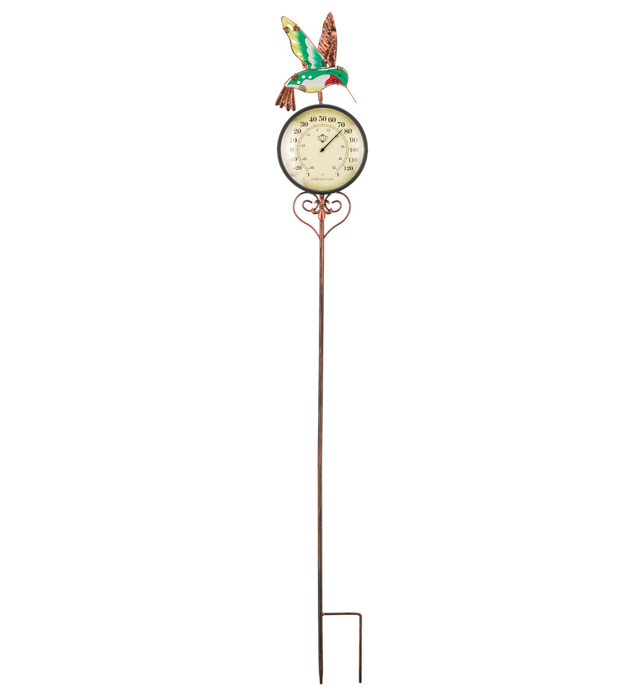 Thermometer Stake - Hummingbird