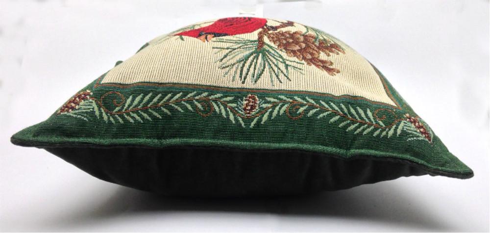 Cardinal - Balsam Fir Filled Pillow
